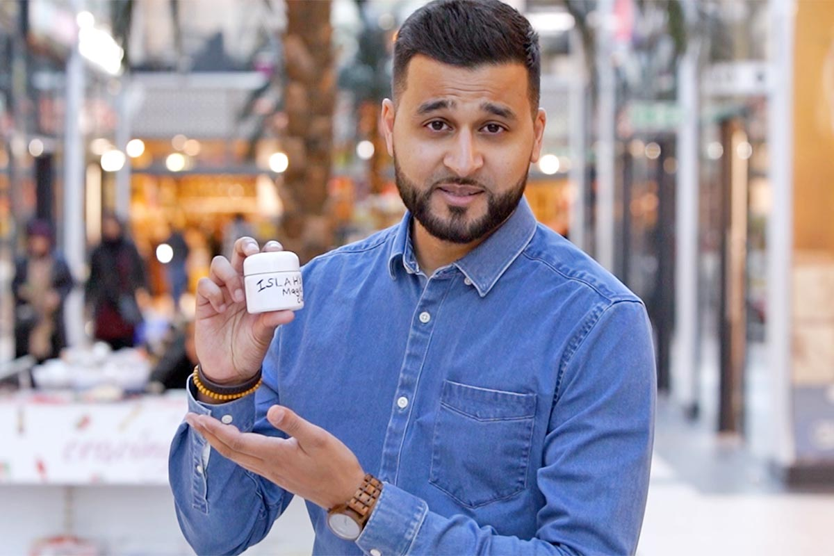 Selling Fake Cream To Strangers – Mistah Islah