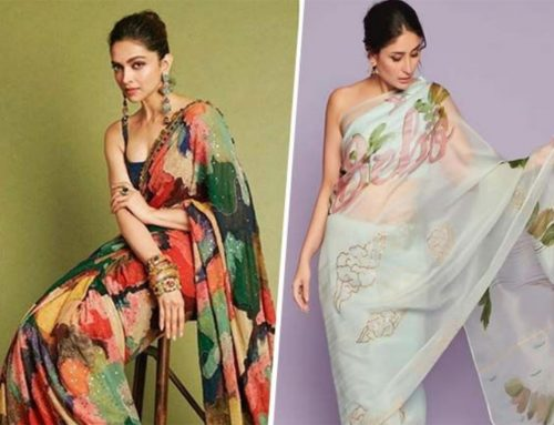 Hand Painted Sarees