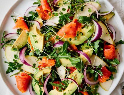 Recipe Of The Week | Salmon & Avocado Salad | Hira Shah