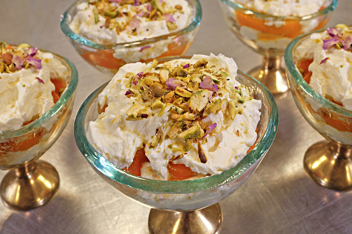 Recipe Of The Week | Apricots, Nectarines and Orange Blossom Cheesecake | Poonam Ball