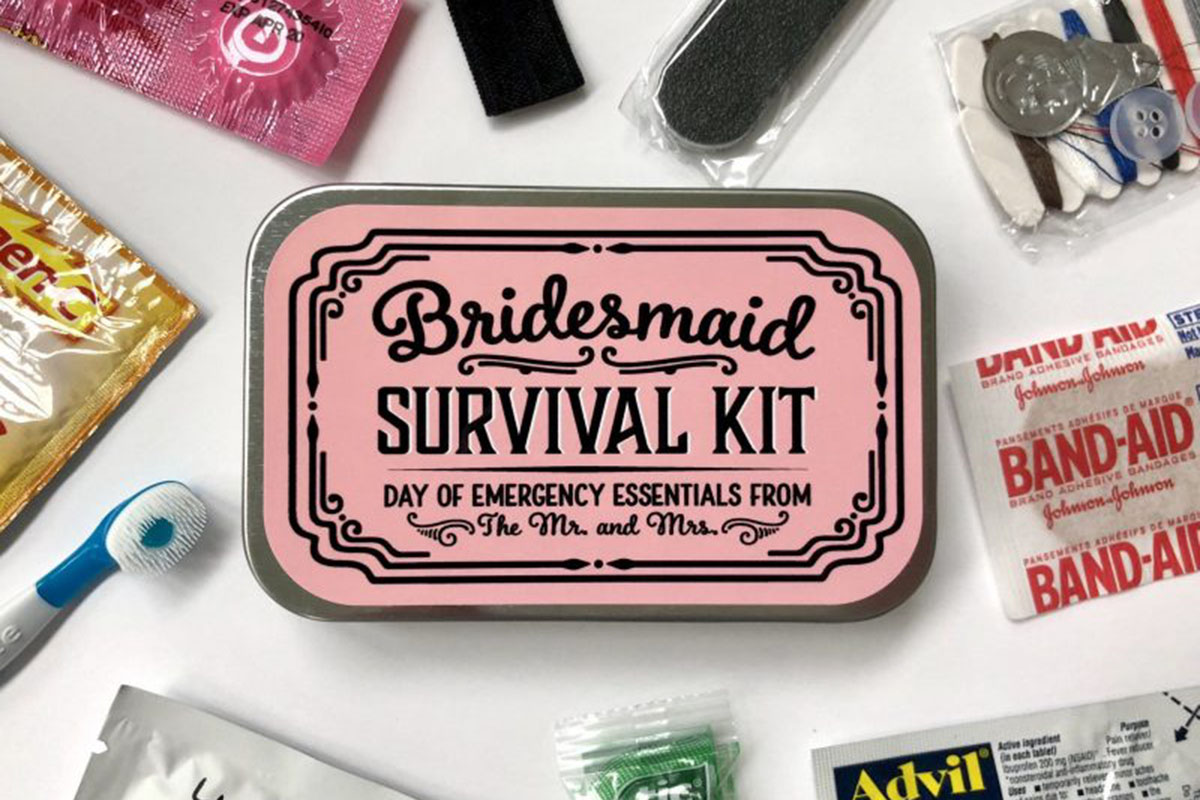 10 Must-Haves In Your Bridesmaid Emergency Kit