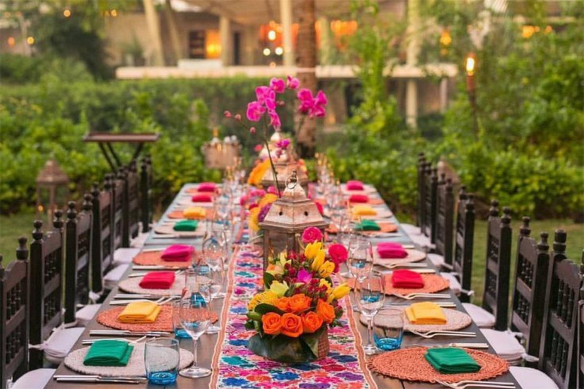 How To Plan A Tropical Themed Wedding In A Desi Style