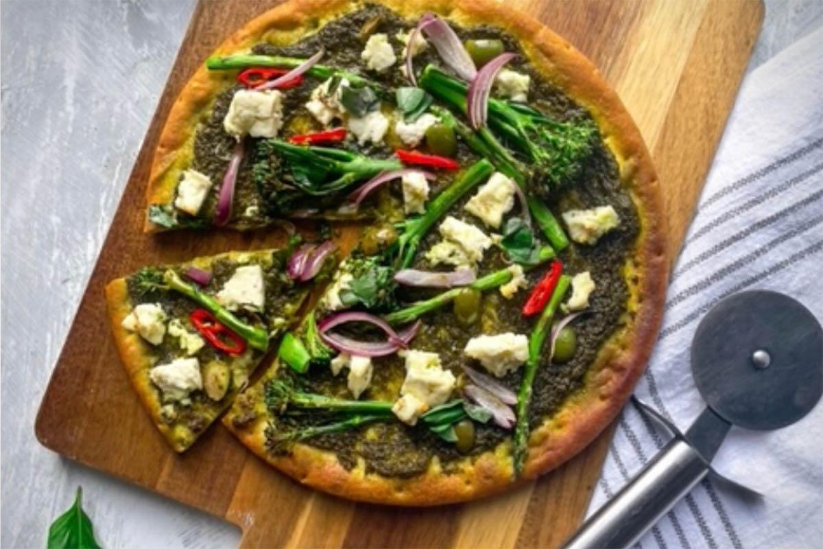 Recipe Of The Week | Paneer Pizza With Coriander Pesto | Sonalicooks
